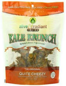 Quite Cheezy, 12 of 2.2 OZ, Alive & Radiant Foods