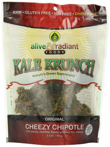 Cheezy Chipotle, 12 of 2.2 OZ, Alive & Radiant Foods