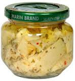 Artichoke Hearts, Marinated, 12 of 6 OZ, Marin Foods