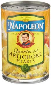Artichoke, Halves, Grilled, 12 of 7.5 OZ, Napoleon Co.
