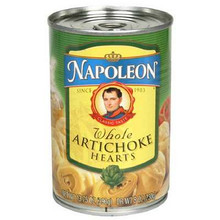 Artichokes Hearts, Whole, 12 of 13.75 OZ, Napoleon Co.