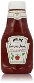 Simply Heinz, Ketchup, 12 of 34 OZ, Heinz