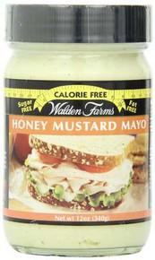 Mayo, Honey Mustard, 6 of 12 OZ, Walden Farms
