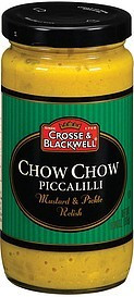 Chow Chow Piccalilli, 6 of 9.34 OZ, Crosse & Blackwell