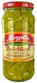 Golden Sliced Pepperoncini, 6 of 16 OZ, Mezzetta