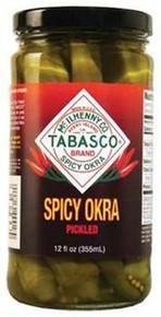 Pickled Okra, 12 of 12 OZ, Tabasco