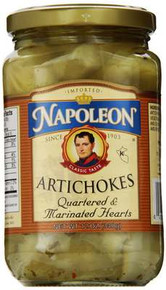 Artichokes, Marinated, 12 of 12 OZ, Napoleon Co.