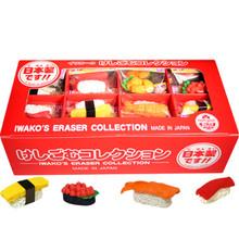 Iwako Eraser Sushi Collection 60 Pieces  From Iwako