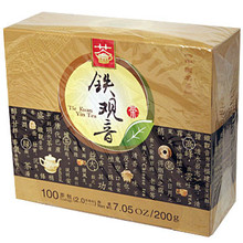 Tie Kuan Yin Tea 100 Bags 7.05 oz  From Qiandao Yuye