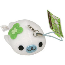 Mame Goma Seal Cell Phone Plushie  From San-X