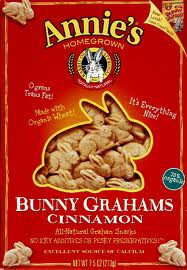 Bunny, Cinnamon, 12 of 7.5 OZ, Annie'S Homegrown