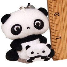 Tare Panda Cell Phone Plushie  From San-X