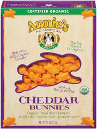 Cheddar Bunnies, Baked Family Size, 12 of 11 OZ, Annie'S Homegrown