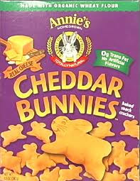 Cheddar Bunnies, Baked Snack, 12 of 10 OZ, Annie'S Homegrown