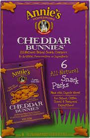 Cheddar Bunnies, Baked Snack, 6 PK, 36 of  1 OZ, Annie'S Homegrown