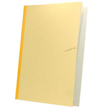Large Gold Apica Notebook 10x7 in  From Apica