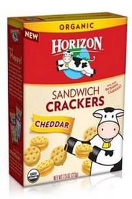 Cracker Sandwich, Cheddar, 12 of 7.5 OZ, Horizon