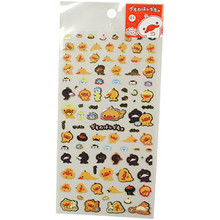 Golden Kamonohashi Kamo Platypus Stickers  From San-X