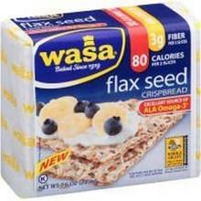 Flax Seed, 12 of 7.6 OZ, Wasa Crispbread