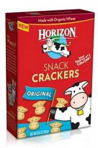 Cracker Snack, Original, 12 of 6.6 OZ, Horizon