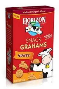 Grahams,Snack, Honey, 12 of 7.5 OZ, Horizon