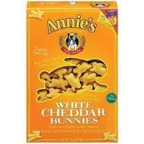 White Cheddar Bunnies, 12 of 7.5 OZ, Annie'S Homegrown