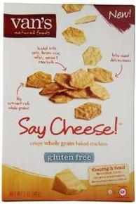 Say Cheese, GF, 6 of 5 OZ, Van'S International Foods