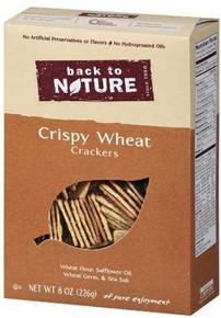 Crispy Wheats, 6 of 8 OZ, Back To Nature