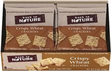 Crispy Wheats Single Serve, 32 of  1 OZ, Back To Nature
