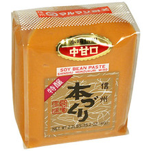 Honzukuri White Miso Paste 35.2 oz  From Maruman