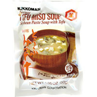 Kikkoman Miso Soup Tofu 1.05 oz  From Kikkoman