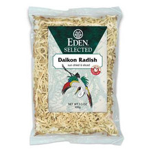 Daikon Radish, Dried & Shrd, 3.5 OZ, Eden Foods
