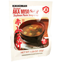 Kikkoman Red Miso Soup 1 oz  From Kikkoman