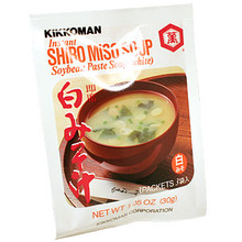Kikkoman Miso Soup White 1 oz  From Kikkoman
