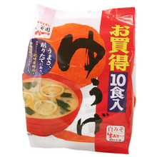 Nama Misoshiru Yuge Instant Miso Soup 10 pack  From Nagatanien