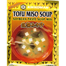 Miso Soup Tofu 1.1 oz  From Kikkoman