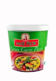 Green Curry Paste, 24 of 14 OZ, Mae Ploy
