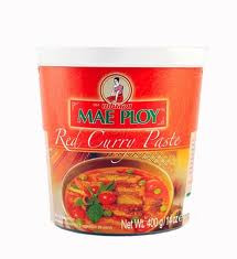 Red Curry Paste, 24 of 14 OZ, Mae Ploy