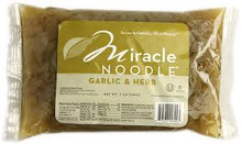 Fettuccini, Garlic Herb, 6 of 7 OZ, Miracle Noodle