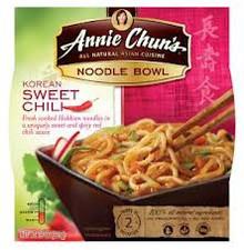 Korean Sweet Chili , 6 of 7.9 OZ, Annie Chun'S