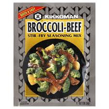 Broccoli Beef, 24 of 1 OZ, Kikkoman International Inc