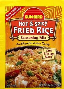 Spicy Fried Rice Mix, 24 of 0.75 OZ, Sunbird