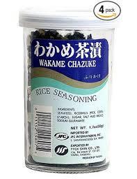 Wakame Chazuke, 10 of 1.7 OZ, Jfc