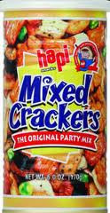 Cracker, Mixed, 12 of 6 OZ, Hapi