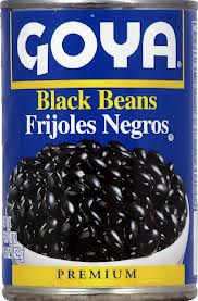 Beans, Black, 24 of 15.5 OZ, Goya