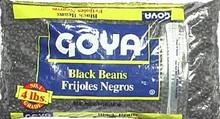 Beans, Black, 6 of 4 LB, Goya