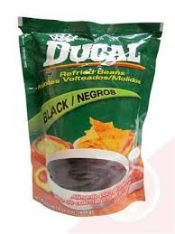 Beans, Black, Doy-Pack, 24 of 14.1 OZ, Ducal