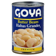 Butter Beans, 24 of 15.5 OZ, Goya
