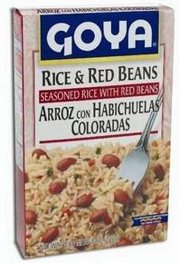 Rice & Red Beans, 6 of 8 OZ, Goya