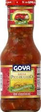 Salsa, Pico De Gallo, 12 of 17.6 OZ, Goya
